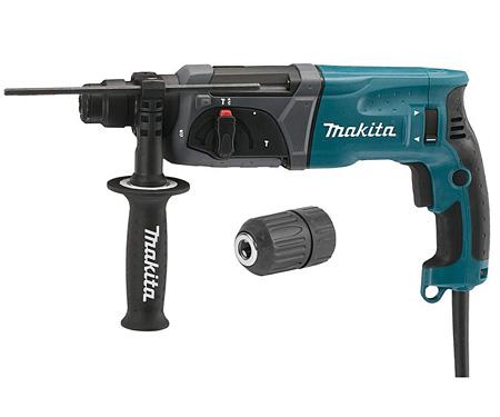 Перфоратор MAKITA HR2470 + быстрозажимной патрон