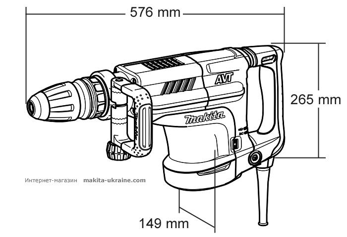 Отбойный молоток MAKITA HM1213C