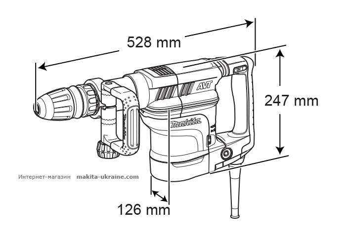 Отбойный молоток MAKITA HM1111C