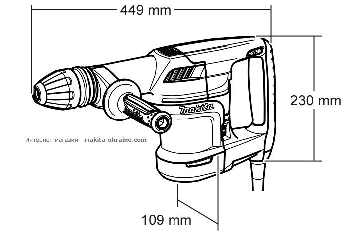Отбойный молоток MAKITA HM1101C
