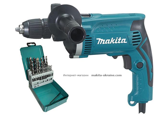 Ударная дрель MAKITA HP1631KX2