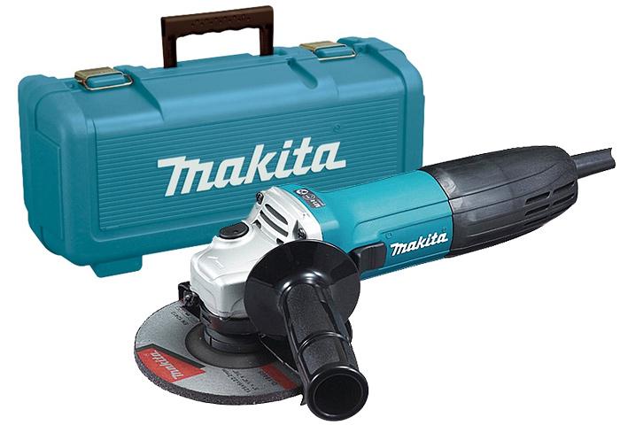 Болгарка (УШМ) MAKITA GA5030 + кейс 824806-0