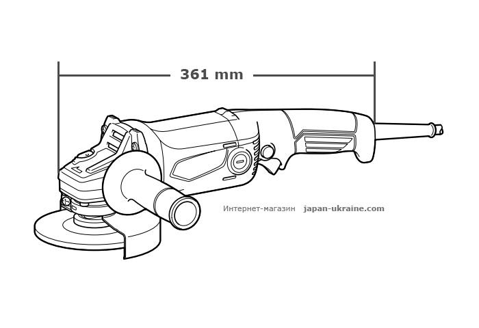 Болгарка (УШМ) MAKITA M9002 + быстрозажимная гайка