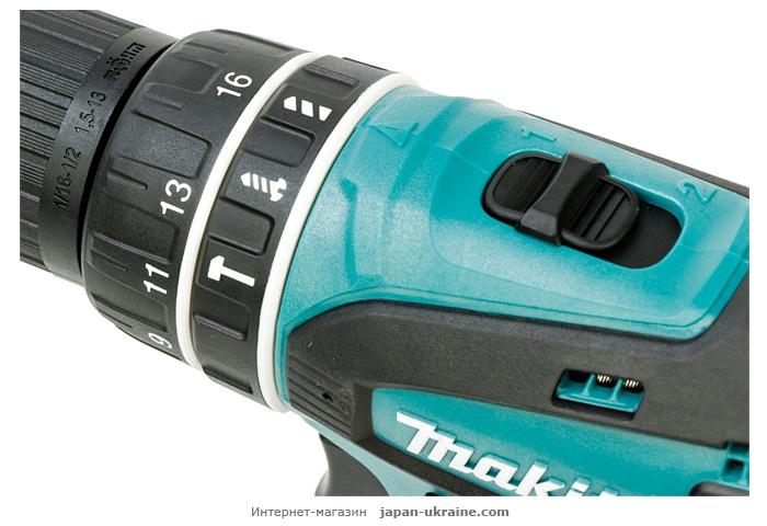 Аккумуляторный ударный шуруповерт MAKITA DHP456RFJ