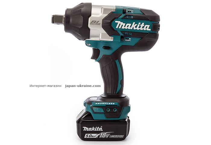 Аккумуляторный ударный гайковерт MAKITA DTW1001RTJ
