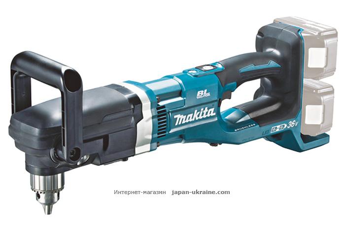 Аккумуляторная угловая дрель MAKITA DDA460Z