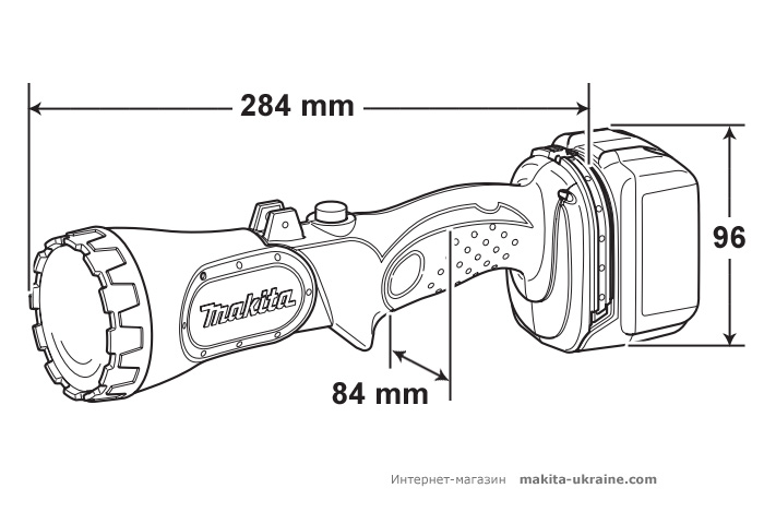 Аккумуляторный фонарь MAKITA BML145