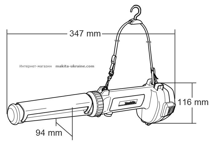 Аккумуляторный фонарь MAKITA ML142