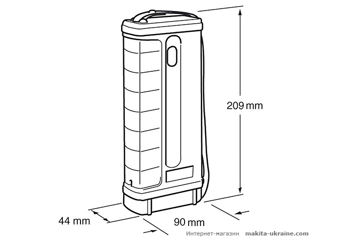 Аккумуляторный фонарь MAKITA ML701
