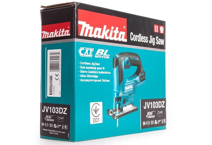 Аккумуляторный лобзик MAKITA JV103DZ