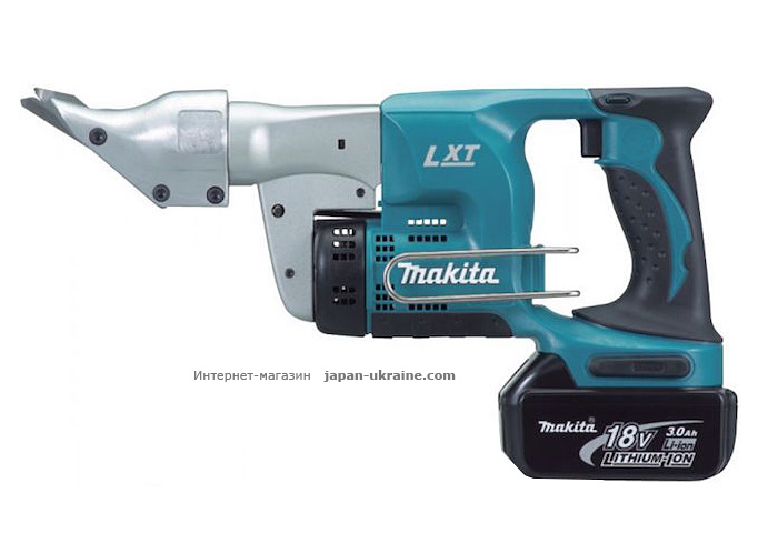 Аккумуляторные ножницы по металлу MAKITA DJS130RFE