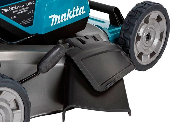 Аккумуляторная газонокосилка MAKITA SOFA-DLM532PT4 + ламзак