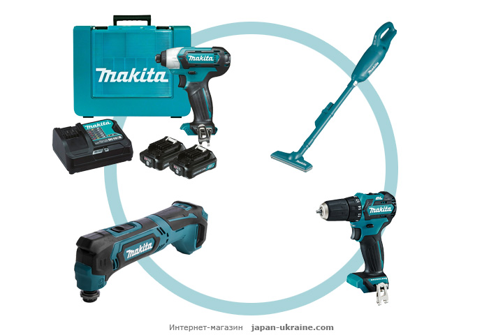 Набор инструментов MAKITA CXT2