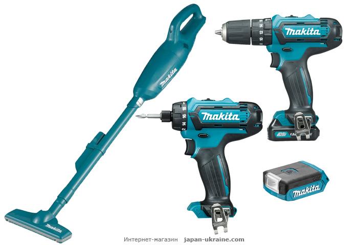 Набор инструментов MAKITA CXT4