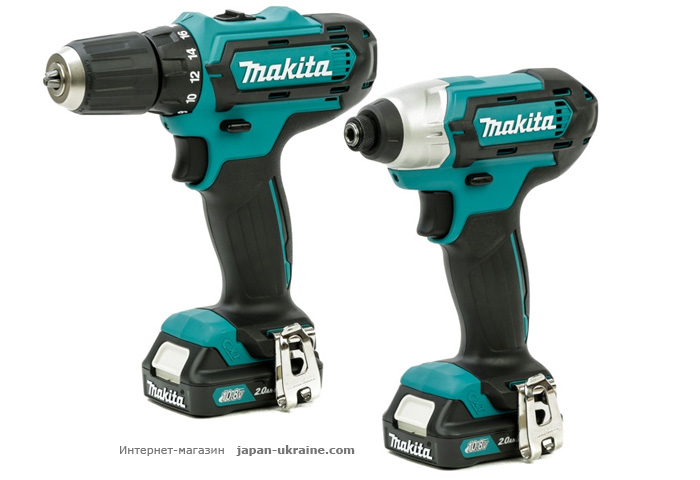 Набор инструментов MAKITA CLX201AX6