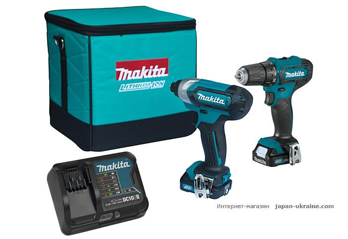 Набор инструментов MAKITA CLX224X