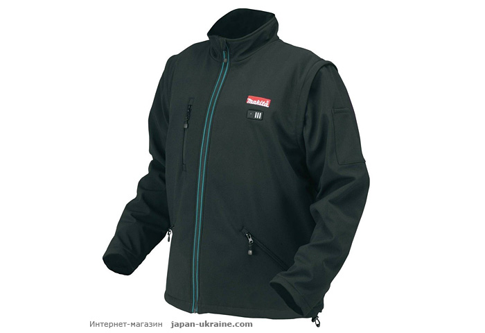Аккумуляторная куртка MAKITA DCJ200ZXL