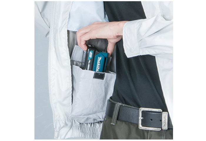 Аккумуляторная куртка MAKITA DFJ214M