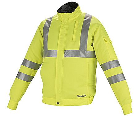 Аккумуляторная куртка MAKITA DFJ214ZL