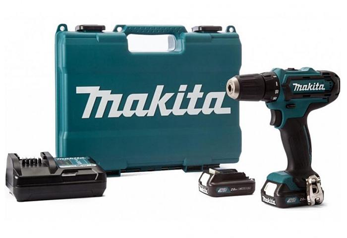 Аккумуляторный ударный шуруповерт MAKITA HP333DWAE