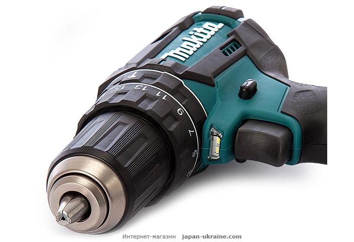 Аккумуляторный ударный шуруповерт MAKITA DHP482RFE3