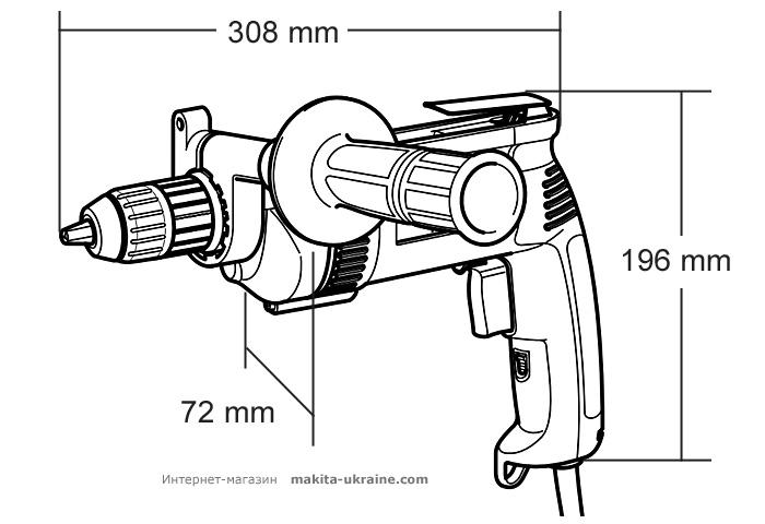 Дрель-шуруповерт MAKITA DP4001