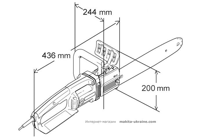 Цепная электропила MAKITA UC3541A