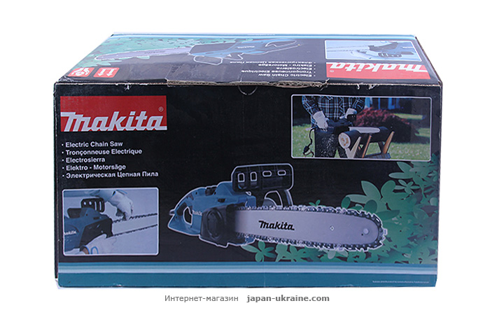 Цепная электропила MAKITA UC3541A + пильная цепь