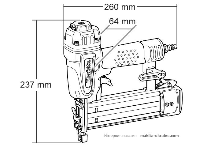 Гвоздезабивной пистолет MAKITA AF505N