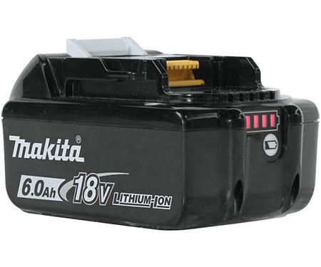 Аккумуляторная батарея Li-Ion MAKITA BL1860B (632F69-8)