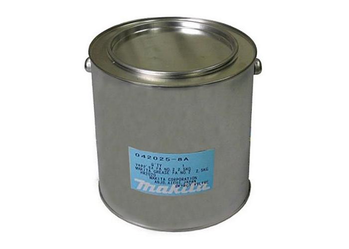 Смазка для редуктора УШМ MAKITA 042025-8A (2,5 кг)