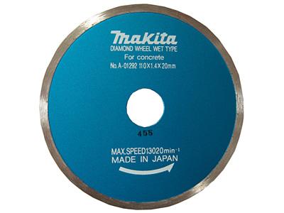 Алмазный диск MAKITA для мокрой резки (A-01292)