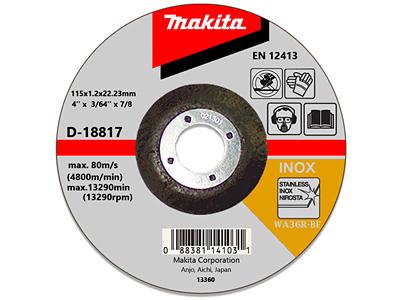 Отрезной диск MAKITA D-18817