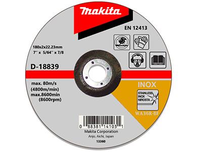 Отрезной диск MAKITA D-18839