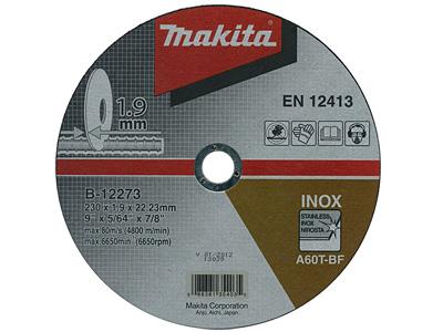 Отрезной диск MAKITA B-12273