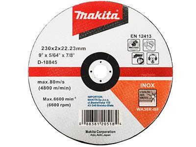 Отрезной диск MAKITA D-18845