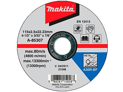 Отрезной диск MAKITA A-85307