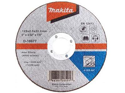 Отрезной диск MAKITA D-18677