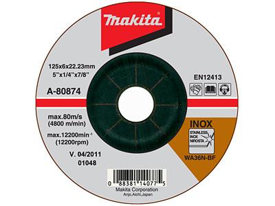 Шлифовальный диск MAKITA A-80874