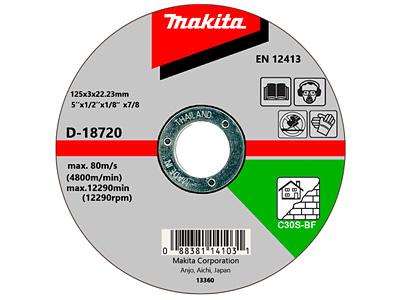 Шлифовальный диск MAKITA D-18720